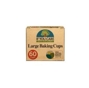 Two If You Care Large Baking Cups 60 Cups New c